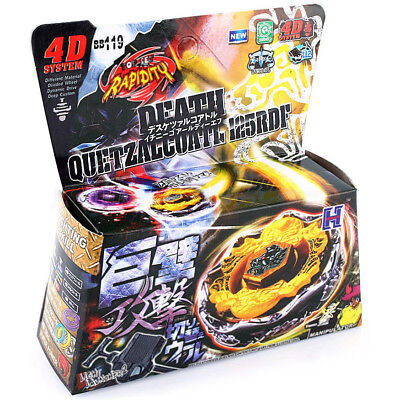 $7.69 • Buy Death Quetzalcoatl 125RDF BB-119 Beyblade 4D Rapidity Starter Set WITH LAUNCHER!