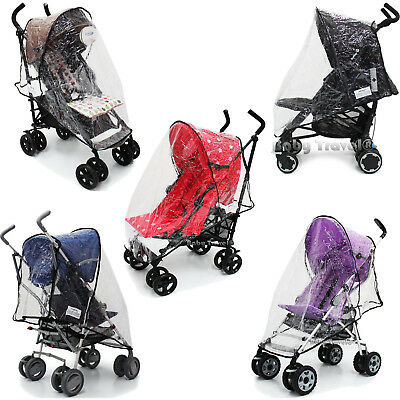 Baby Stroller Rain Cover To Fit My Babiie, Chicco, Maclaren And So Many More! • 12.95£