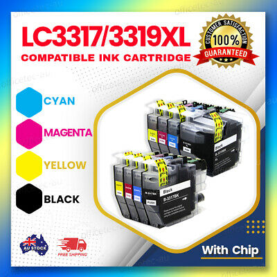 AU44.07 • Buy Compatible Ink Cartridges LC-3317 LC-3319XL For Brother MFCJ5730DW J6530DW J6930