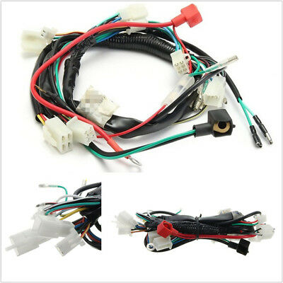 $12.50 • Buy Motorcycles Machine Electric Start Wiring Harness For 50cc 70cc 90cc 110cc 125cc