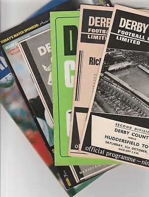 Derby County Home Programmes 1957 Onwards • 3.09£