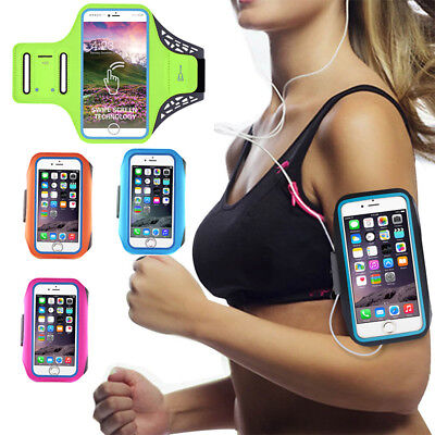 Fitness Sports Armband For IPhone 6/ 6S 7 8 8Plus Running Jogging Gym Cover • 4.99£