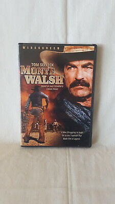 Monte Walsh (DVD, 2007) TOM SELLECK  ~ OOP • 5.57£