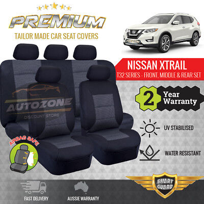 AU249 • Buy Premium Seat Covers For Nissan X-Trail Xtrail T32 Series 7 Seater 03/2014 - ON