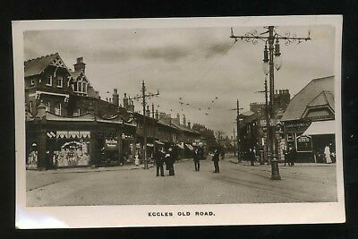 £15 • Buy SALFORD Lancashire  Eccles Old Road  With Shops And People  RP