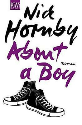 About A Boy, Very Good Condition Book, Hornby, Nick, ISBN 9783462043075 • 4.70£