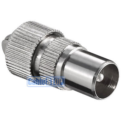 £1.65 • Buy Male Coax Plug Tv Aerial Connector Coaxial Adapter