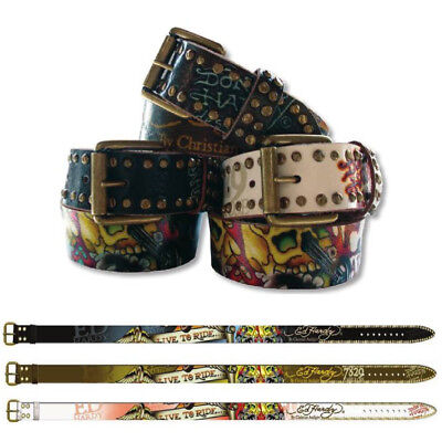 $12.99 • Buy Ed Hardy EH1223 Live-To-Ride Kids-Boys Leather Belt