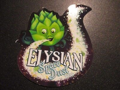 £2.90 • Buy ELYSIAN BREWING Seattle SPACE DUST IPA LOGO STICKER Decal Craft Beer Brewery