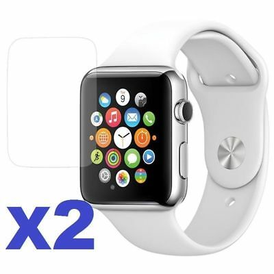 $ CDN1.72 • Buy 2x Tempered Glass Screen Protector For Apple Watch Series 3 /4 38/40/42/44mm