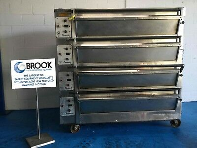 Tom Chandley 12 Tray 4 Deck High Crown Oven -stock No P519151 - Bakery Equipment • 5,250£