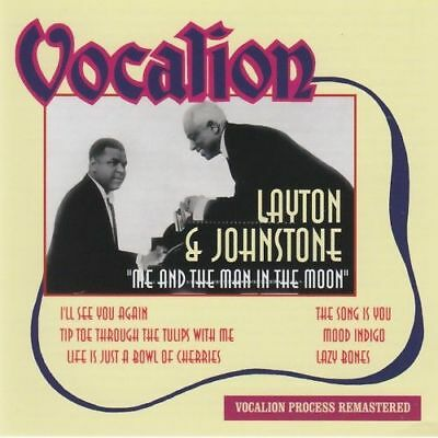 Layton & Johnstone - Me And The Man In The Moon - CD -  • 6.02£