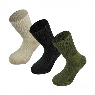 NEW Highlander Military Norwegian Army Socks Outdoor Hiking Camping Essentails • 13£