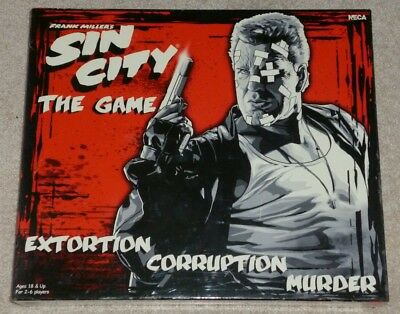 Sin City Board Game, New In Sealed Box + Frank Miller Signed Sin City Comic • 89£