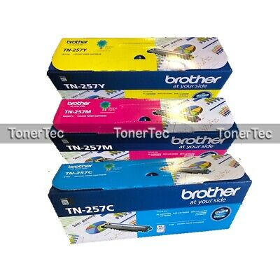 AU487.55 • Buy Brother TN-257C/M/Y High Yield Toner For HL-L3230CDW/L3270CDW/MFC-L3750CDW TN257