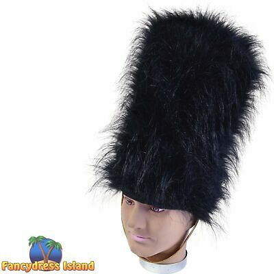 £7.79 • Buy MILITARY SOLDIER ROYAL GUARD BEARSKIN HAT Mens Fancy Dress Costume Accessory