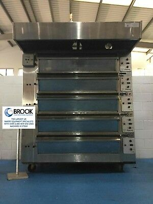 Tom Chandley 15 Tray Deck Oven, Mk4 Control- Stock No P519449 - Bakery Equipment • 6,850£