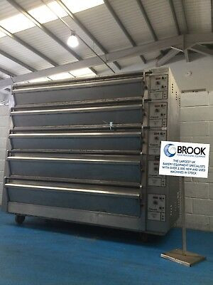 Tom Chandley 20 Tray Deck Oven, Mk4 Control- Stock No 0072524 - Bakery Equipment • 8,950£