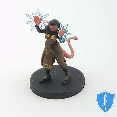 $ CDN14.54 • Buy Tiefling Warlock - Monster Menagerie 2 #35 D&D Rare Miniature