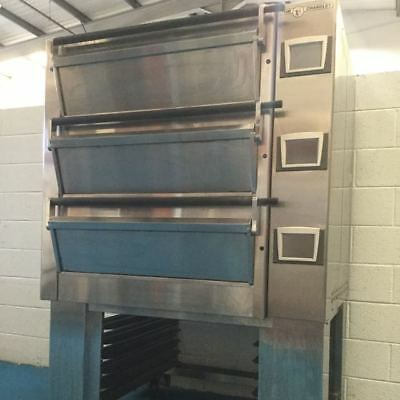 Tom Chandley 6 Tray High Crown Deck Oven - Stock No: Y159843 - Bakery Equipment • 6,450£