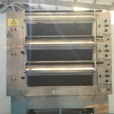 Tom Chandley 6 Tray High Crown Deck Oven - Stock No: Y159801 - Bakery Equipment • 5,850£