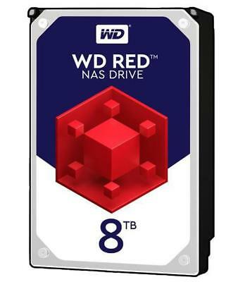 """View Details WD Red NAS 3.5"""" Internal HDD SATA 6Gb/s, 8TB - WD • 308.69£"""