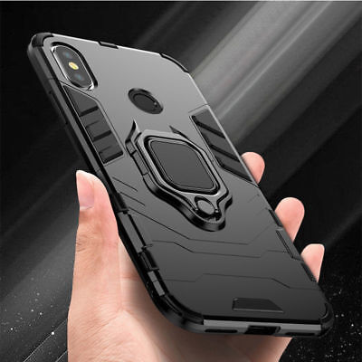 $3.99 • Buy For Xiaomi Redmi Note 6 7 8 Pro Hybrid Magnetic Kickstand Ring Holder Case Cover