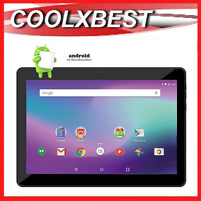 AU79.98 • Buy 10.1  IPS ANDROID 6.0 TABLET PC QUAD CORE 16GB BLUETOOTH & WiFi LEARNING STUDENT