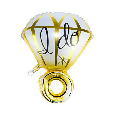 AU2.69 • Buy TRIXES Wrist Diamond Ring Foil Balloon Gold