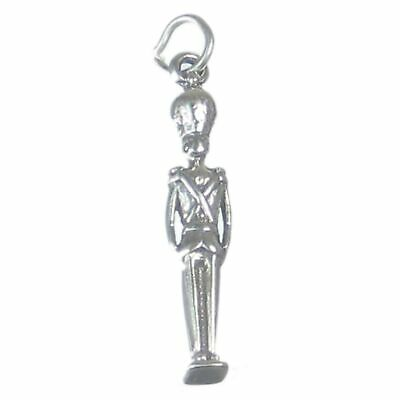 Nutcracker Soldier Sterling Silver Charm .925 X 1 Nut Cracker Soldiers • 8.25£