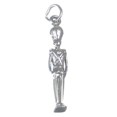 Nutcracker Soldier Sterling Silver Charm .925 X 1 Nut Cracker Soldiers • 7.99£