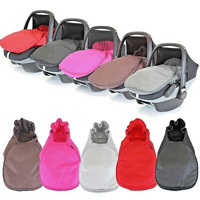 Universal Deluxe Car Seat Footmuff X5 Colours  • 17.95£