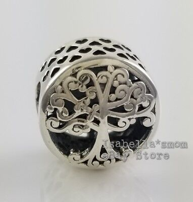 AU38.23 • Buy FAMILY ROOTS Genuine PANDORA  Family Is Where Love Grows  TREE Charm 797590 NEW