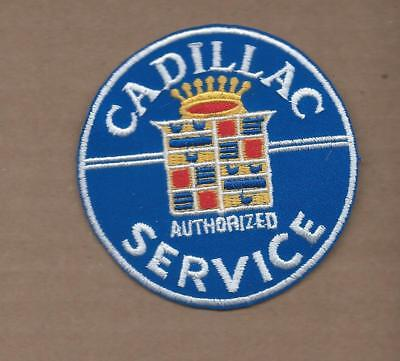 New 3 Inch Cadillac Service Iron On Patch Free Shipping • 4.99$