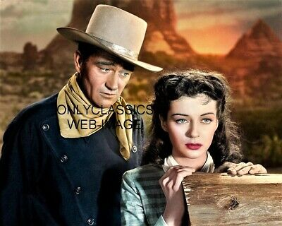 $11.72 • Buy 1947 Cowboy John Wayne & Gail Russel  Angel And The Badman  8x10 Photo Western