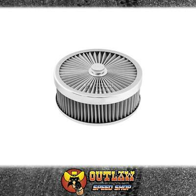 AU108.15 • Buy Proflow Air Cleaner Flow Top Stainless Steel 9  X 3  Fits 5-1/8  - Pfeaf-230076s