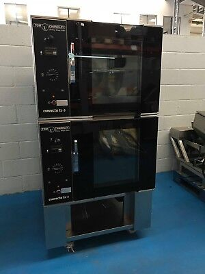 Tom Chandley Twin Tc5 5 Tray Bake Off Oven - Stock No:tc2850 - Bakery Equipment • 2,850£