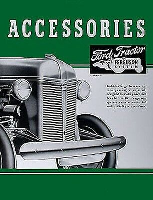 AU55.01 • Buy 1939-1947 Ford 2N 9N Accessory Brochure Set Tractor Accys Dearborn Implements