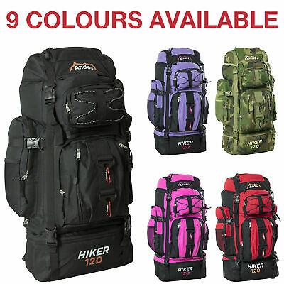 £19.95 • Buy Andes 120L Hiker Backpack Extra Large Hiking/Camping Luggage Rucksack