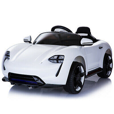 £104.99 • Buy 6V Kids Ride On Car Electric Powered Sport Car LED Headlight Remote White