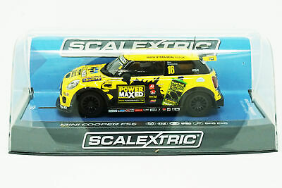 Scalextric C3742 BMW MINI Cooper F56 - MINI Challenge 2015 : 1/32 Slot Car • 31.83£