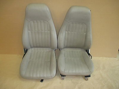 $600 • Buy 98-02 Camaro RS SS Z28 Coupe Neutral Tan Leather Seat Seats Set 0728-4