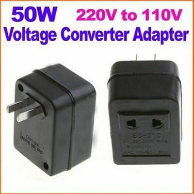 Step Down Transformer Travel Adapter 50W US AC 220V To 110V Voltage Converter US • 6.12£