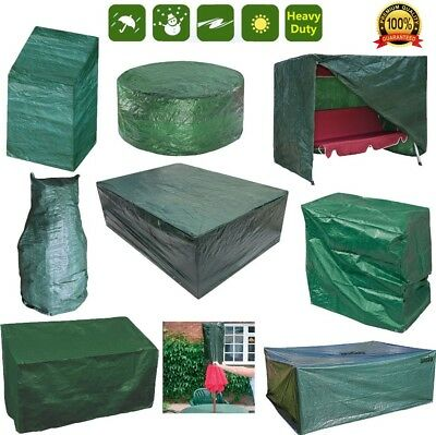 Waterproof Garden Patio Furniture Cover For Rattan Table Chair Cube Outdoor Park • 10.34£