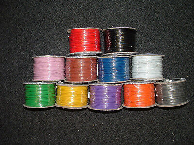 £3.63 • Buy 13M Mixed Colour Equipment Wire 7 Strand 7/0.2mm Electronic Electric Cut Length