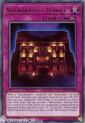 SOFU-EN068 Necrovalley Temple Rare 1st Edition Mint YuGiOh Card • 0.99£