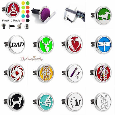 AU1.26 • Buy Fragrance & Essential Oil Diffuser Scent Car Air Vent Freshener Aromatherapy New