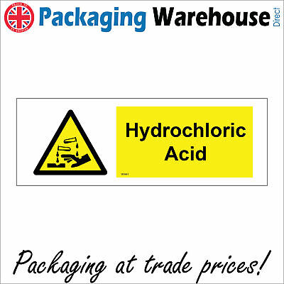 £23.36 • Buy Ws661 Hydrochloric Acid Sign Cleaners Batteries Chemical Industry Factories