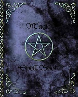 Witchery Magic Spell Book Of Shadows Grimoire Gifts 90 Blank Spells Records • 6.45£
