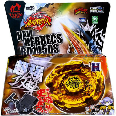 $7.69 • Buy Hades Kerbecs / Hell Kerbecs BB-99 BD145DS Beyblade 4d STARTER SET WITH LAUNCHER